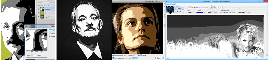 convert image to vector posterize effect