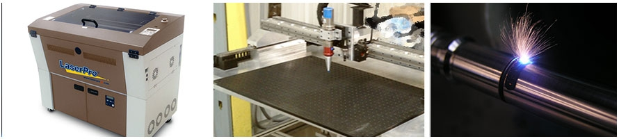 co2 laser and fiber laser engraving